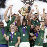 South Africa 32, England 12: Springboks take home RWC trophy for third time