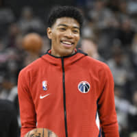 Rui Hachimura has been compared to Jabari Parker, Terry Cummings, Antawn Jamison and Pascal Siakam by NBA pundits in recent days. | USA TODAY / VIA REUTERS