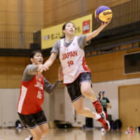 Japan women's 3x3 squad vows to earn Olympic berth