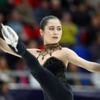 Evgenia Medvedeva leads, Satoko Miyahara sixth after Cup of Russia women's short program