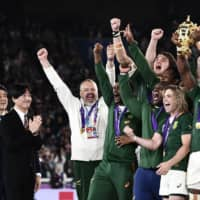 World champion Springboks hope victory will inspire nation