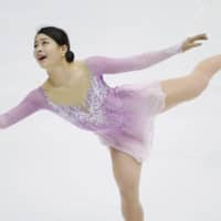 Yuhana Yokoi placed fourth overall in the women's competition with 189.54 points. | KYODO
