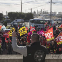 French CGT union gives ultimatum to government to pull pension reform plan