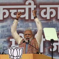 India's BJP trails in state poll, signaling more woes for Modi