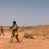 About 70 soldiers believed killed in attack on Niger military camp near area of Islamic State massacres