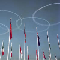 Blue Impulse aerobatics team to draw Olympic rings in sky at flame-welcoming ceremony