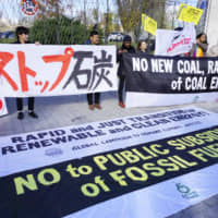 Japanese students call for greater awareness of climate change
