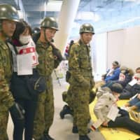 Large-scale earthquake drill held at 2020 Olympic venues in Tokyo