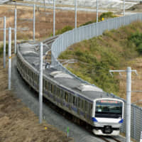 Trial run held on section of Joban Line in Fukushima closed since nuclear disaster