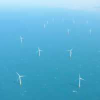 Wind turbines at the Formosa 1 Offshore Wind Project in Taiwan | JERA CO.