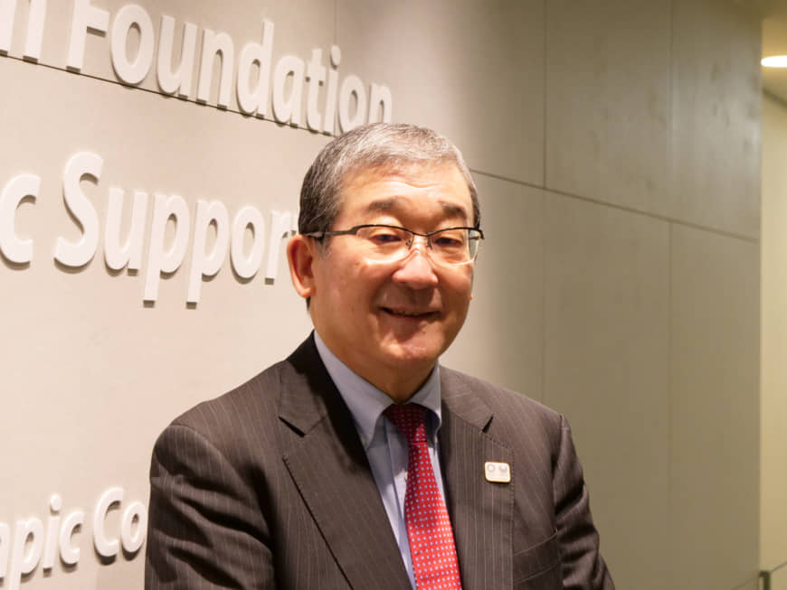 Yasushi Yamawaki, vice president of the Tokyo Organising Committee of the Olympic and Paralympic Games, believes the 2020 Tokyo Paralympics can change Japanese society. | CHISATO TANAKA