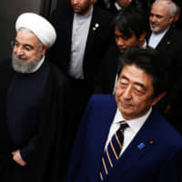 Rouhani welcomes Japan's decision to sidestep U.S.-led naval mission in Persian Gulf