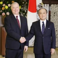 Japanese officials and U.S. envoy agree to stay in step on North Korea