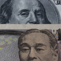 The dollar has gained against the yen 'only once since 2014 in January,' said Yuji Saito, executive director of Credit Agricole's foreign exchange department in Tokyo. 'Considering this, traders may want to sell the dollar around the end of the year or early next year.'   GETTY IMAGES