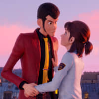 Ever the gentleman: Master thief Lupin III returns to steal treasure — and a few hearts — in Takashi Yamazaki's 3D computer animation, 'Lupin III: The First.'  © Monkey Punch / 2019 'Lupin III: The First' Film Partners
