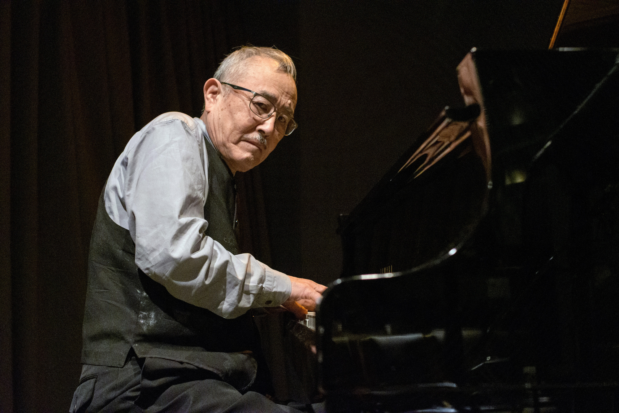 Musical crossover: Yosuke Yamashita's free jazz trio aimed at an audience beyond the avant-garde scene, and was embraced by rock and folk fans.   JAMES HADFIELD