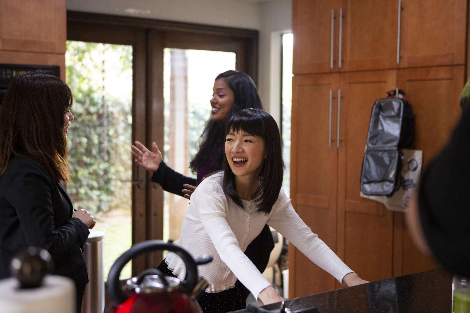 Omnipresent: This year saw Marie Kondo catapulted from fame in Japan to becoming a household name overseas. | DENISE CREW/NETFLIX
