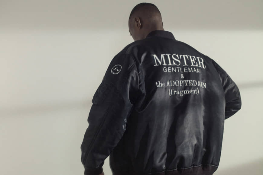 A Mistergentleman and The Adopted Son jacket, made in collaboration with Fragment Design | MISTERGENTLEMAN