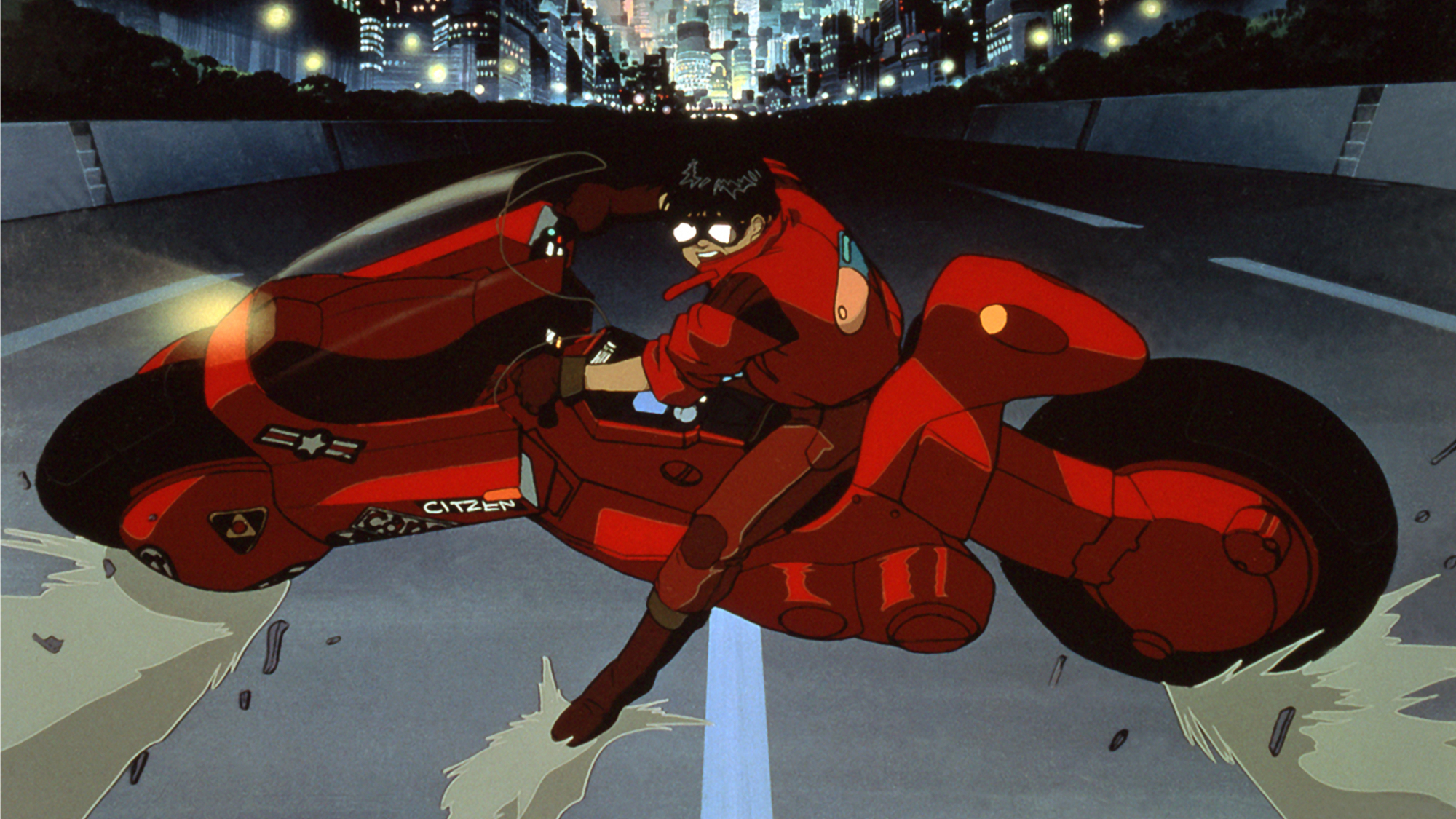 Post-apocalyptic: 1988's 'Akira' told the story of a dystopian Tokyo in 2019.   © 1988 MUSHROOM/ AKIRA PRODUCTION COMMITTEE