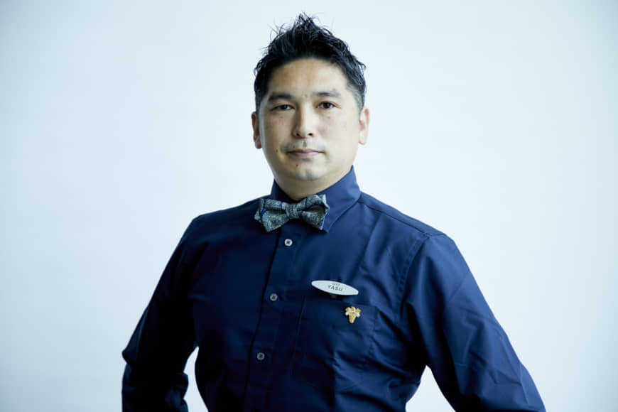 Veggie and vino: Sommelier Yasushi Honda pairs Faro's high-end vegetarian fare with complementary beverages from the restaurant's selection of wine, sake and nonalcoholic pairings. | COURTESY OF FARO