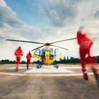 Operations from the air allow medical and search and rescue personnel to get to the scene quickly, with supplies and other assistance following on seamlessly. | GETTY IMAGES