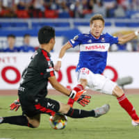 Marinos' faith in Teruhito Nakagawa pays off