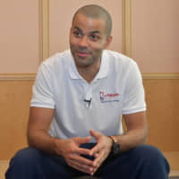 Tony Parker reflects on great career in Tokyo visit