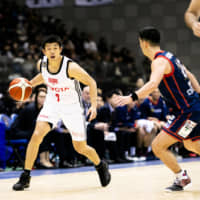 Alvark Tokyo guard Takeki Shonaka is a valuable floor leader off the bench for the two-time defending champions. | B. LEAGUE