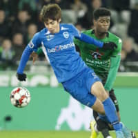 Junya Ito notches first goal of season for Genk