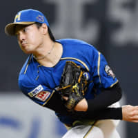 Fighters pitcher Kohei Arihara has expressed his desire to pitch in the major leagues sometime in the near future. | KYODO