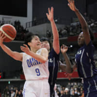 Ohka Gakuen holds off Gifu Girls' late rally to capture Winter Cup title