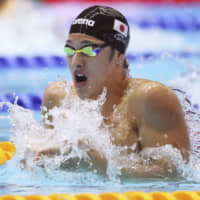 Daiya Seto is expected to be the face of Japan's swimming team after a strong performance at the 2019 world championships. | KYODO