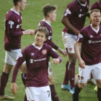 Ryotaro Meshino nets third goal of season in Hearts draw