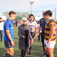 Keio boys triumph as Japan's oldest sides play memorial match