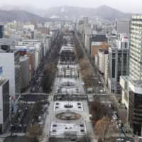 Sapporo's Odori Park will be the setting for the Tokyo 2020 race walking events as well as at least one lap of the marathon course. | KYODO