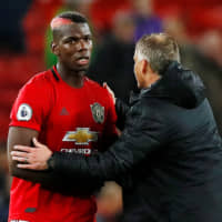 Paul Pogba is staying at Manchester United, manager Ole Gunnar Solskjaer says