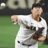 Giants complete posting application for pitcher Shun Yamaguchi