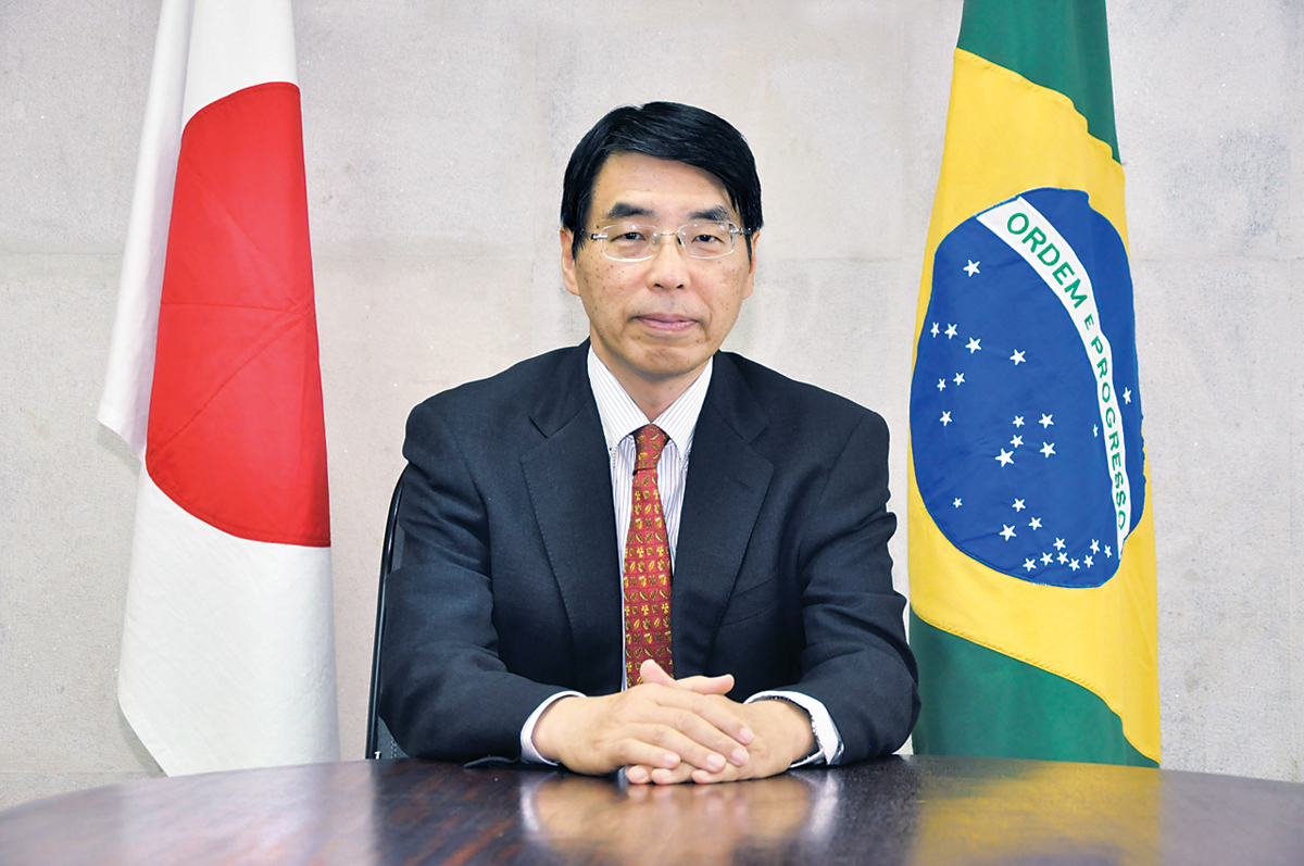 Akira Yamada, Ambassador of Japan to Brazil | © EMBASSY OF JAPAN IN BRAZIL