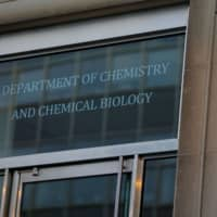 The exterior of The Department of Chemistry and Chemical Biology at Harvard University is seen. The head of the department, Dr. Charles Lieber, is charged with lying to the federal authorities in connection with aiding China, at Harvard University in Cambridge, Massachusetts, Thursday. | REUTERS