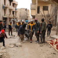 Assault on Syria's Idlib pushes 700,000 to flee in potential 'international crisis,' says U.S. envoy