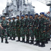 Indonesia mobilizes fishermen to join warships in territorial standoff with China