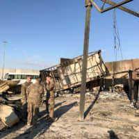 U.S. troops describe 'miraculous' escape at Iraqi base hit by Iranian missile attack
