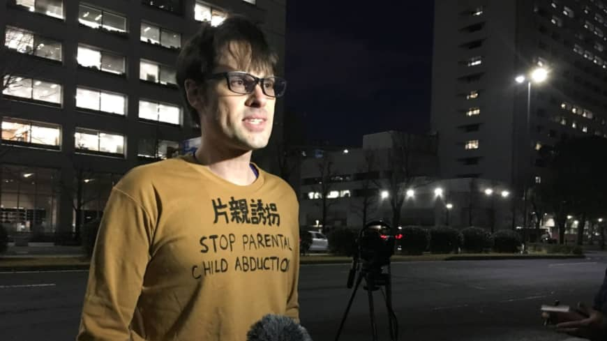 In Japan, foreign parents lead charge against loss of child custody