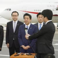 Japan's Abe kicks off five-day visit to Middle East amid U.S.-Iran tensions