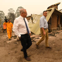 Aussie leader Scott Morrison postpones trips to Japan and India over bush fire crisis