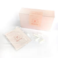 A breast milk test kit for parents to use at home   COURTESY OF MIDORI OGINO / VIA KYODO