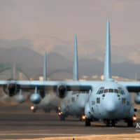 Two SDF planes arrive in Australia to help fight bush fires
