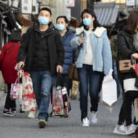 Virus poses stark challenges to Abe's tourism goals as Tokyo Olympics loom