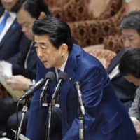 Amid criticism from opposition parties and some members of the ruling bloc, Prime Minister Shinzo Abe announced Friday that the government is considering subsidizing airfares for the charter flights out of Wuhan, the coronavirus's epicenter. | KYODO
