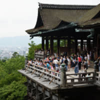 Over-tourism is set to be a focal point in Sunday's mayoral election in Kyoto.   BLOOMBERG